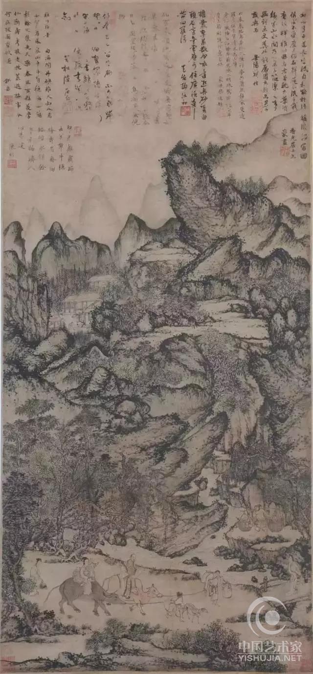 一幅古画,为何值4个亿?-中国艺术家网图片